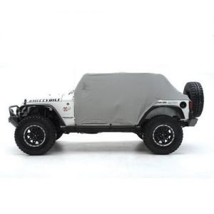 Smittybilt CAB COVER W/DOOR FLAP - WATER RESISTANT - GRAY   JEEP, 76-86 CJ7 1059