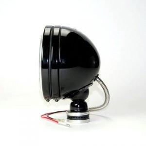 "6"" Daylighter Halogen Pair Pack System - Black - KC #238 (Spot Beam)"