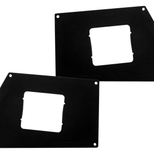 Go Rhino - 243882T - BR Front Light Plates (Surface Mount)