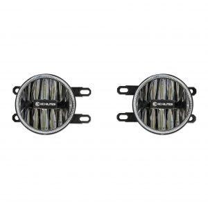 Gravity LED G4 Toyota Tacoma 12-18 Amber LED Fog Pair Pack System - #501