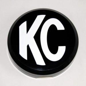 "6"" Plastic Cover - KC #5105 (Black with White KC Logo)"