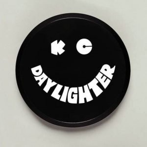 """6"""" Plastic Cover - KC #5200 (Black with White KC Daylighter Logo)"""
