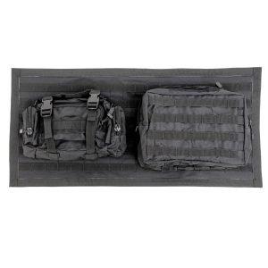 Smittybilt GEAR TAILGATE COVER - BLACK JEEP, 07-18 WRANGLER (JK) 5662301