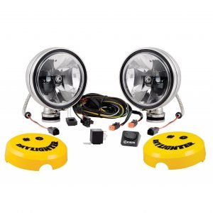 "6"" Daylighter with Gravity LED G6 Spot Beam Black Pair Pack - #651"