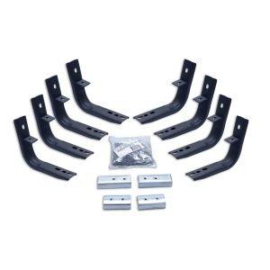 Go Rhino - 6840355 - Brackets for OE Xtreme Cab-Length SideSteps