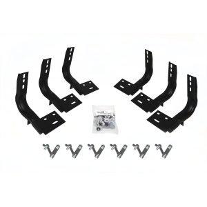 Go Rhino - 6841806 - Brackets for 6in OE Xtreme Wheel-to-Wheel SideSteps
