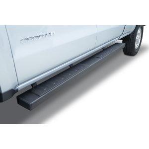 Go Rhino - 6862404987T - 6in OE Xtreme II Textured Black SideSteps Kit - Bars + Brackets (Diesel Only)