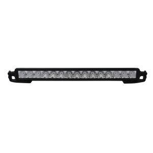 Go Rhino - 732210T - Jeep Wrangler JL & JLU Center Hood Mount 20in Single Row LED Bar