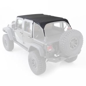 Smittybilt EXTENDED TOP - BLACK DIAMOND JEEP, 10-18 WRANGLER (JK) - 4 DOOR 94635