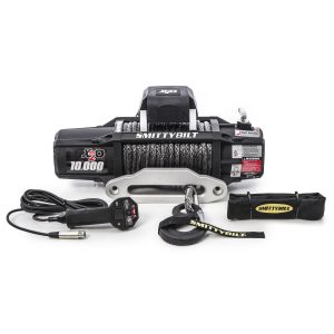 Smittybilt X2O 10 COMP - GEN2 - 10,000 LB. WINCH - COMP SERIES W/SYNTHETIC ROPE & ALUMINUM? FAIRLEAD UNIVERSAL 98510