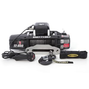 Smittybilt X2O 12 COMP - GEN2- 12,000 LB. WINCH - COMP SERIES W/SYNTHETIC ROPE & ALUMINUM? FAIRLEAD UNIVERSAL 98512