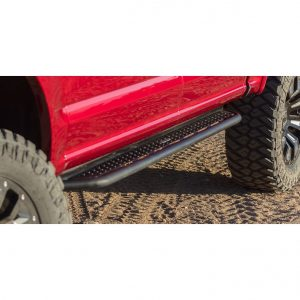 Go Rhino - D64049T - Dominator D6 Side Steps for 2019+ Chevy/GMC 1500 Crew Cab, Textured Black