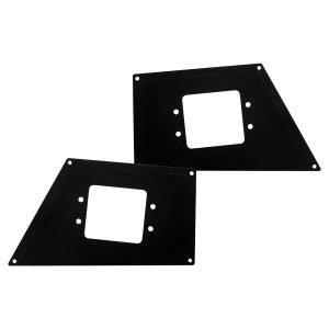 Go Rhino - 241731T - BR Front Light Plates (Flush Mount)