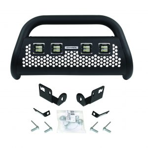 Go Rhino - 55144LT - RC2 LR Bull Bar with 4 Go Rhino Branded 3in Cube Lights & Brackets