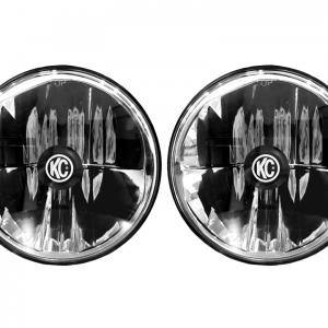 "Gravity LED 7"" Headlight for Jeep JK 2007-2018 Pair Pack - DOT Compliant"