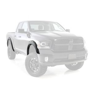 Smittybilt M1 FENDER FLARES - BOLT ON - BLK M1 FENDER FLARES FOR 09-18 RAM 1500 17491