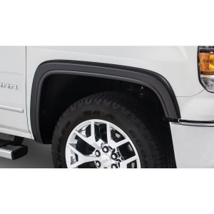 Bushwacker 40908-02 Black OE-Style Smooth Finish 4-Piece Fender Flare Set for 2000-2006 Suburban; 2003-2006 Yukon XL 1500, XL 2500