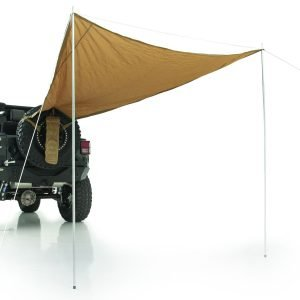 "Smittybilt GEAR TRAIL SHADE - 10' X 6' - FITS UP TO A 37"" TIRE - COYOTE TAN UNIVERSAL 5662424"