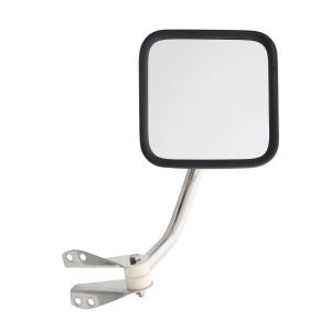 Smittybilt SIDE MIRRORS - STAINLESS STEEL JEEP, 55-86 CJ5 & CJ7 7417