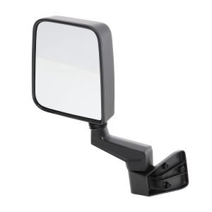 Smittybilt HALF DOOR SIDE MIRRORS - BLACK JEEP, 87-06 WRANGLER (YJ/TJ/LJ) 7694