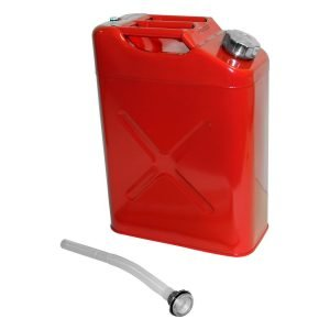 RT Off-Road - Steel Red Jerry Can