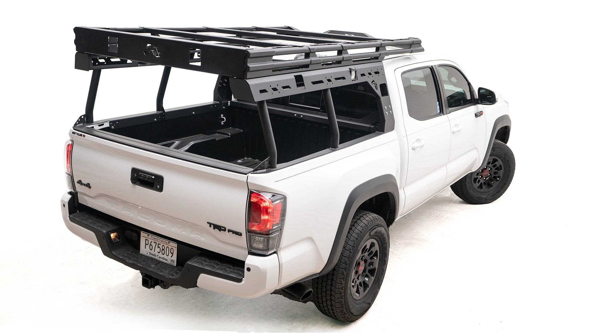 2016 2020 Toyota Tacoma Overland Bed Rack By Fab Fours Overlanded