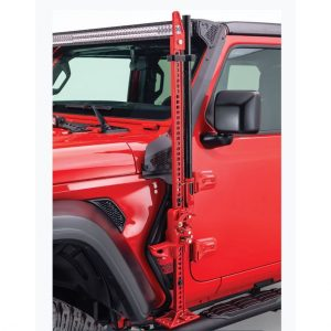 Front Driver Side Exterior Jack Mount for Jeep Wrangler JL, JLU & GLADIATOR JT
