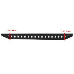 Go Rhino - 6903688020PC - RB20 Running Boards w Drop Steps, Black Textured Powdercoat, Pair, Complete Set