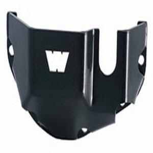 Warn Fuel Tank Powder Coated Black Steel Skid Plate
