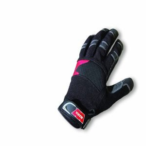 Warn 2000 LB Cap 50 Ft Synthetic Rope Work Gloves