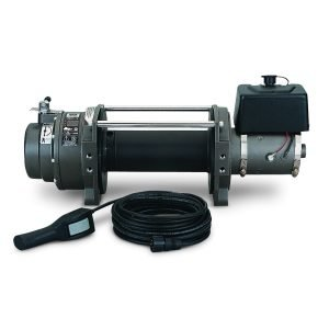 Warn Fuel Tank Powder Coated Black Steel Winch