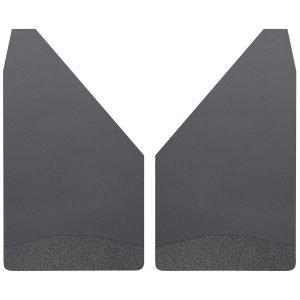 Universal Mud Flaps 14 Wide - Black Weight