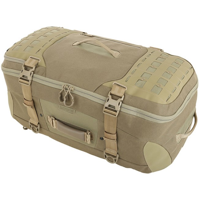 Maxpedition Ironstorm Adventure Travel Bag 62L Tan